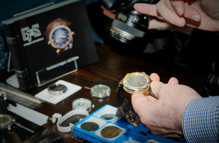 GOS watches at The Watchmakers club