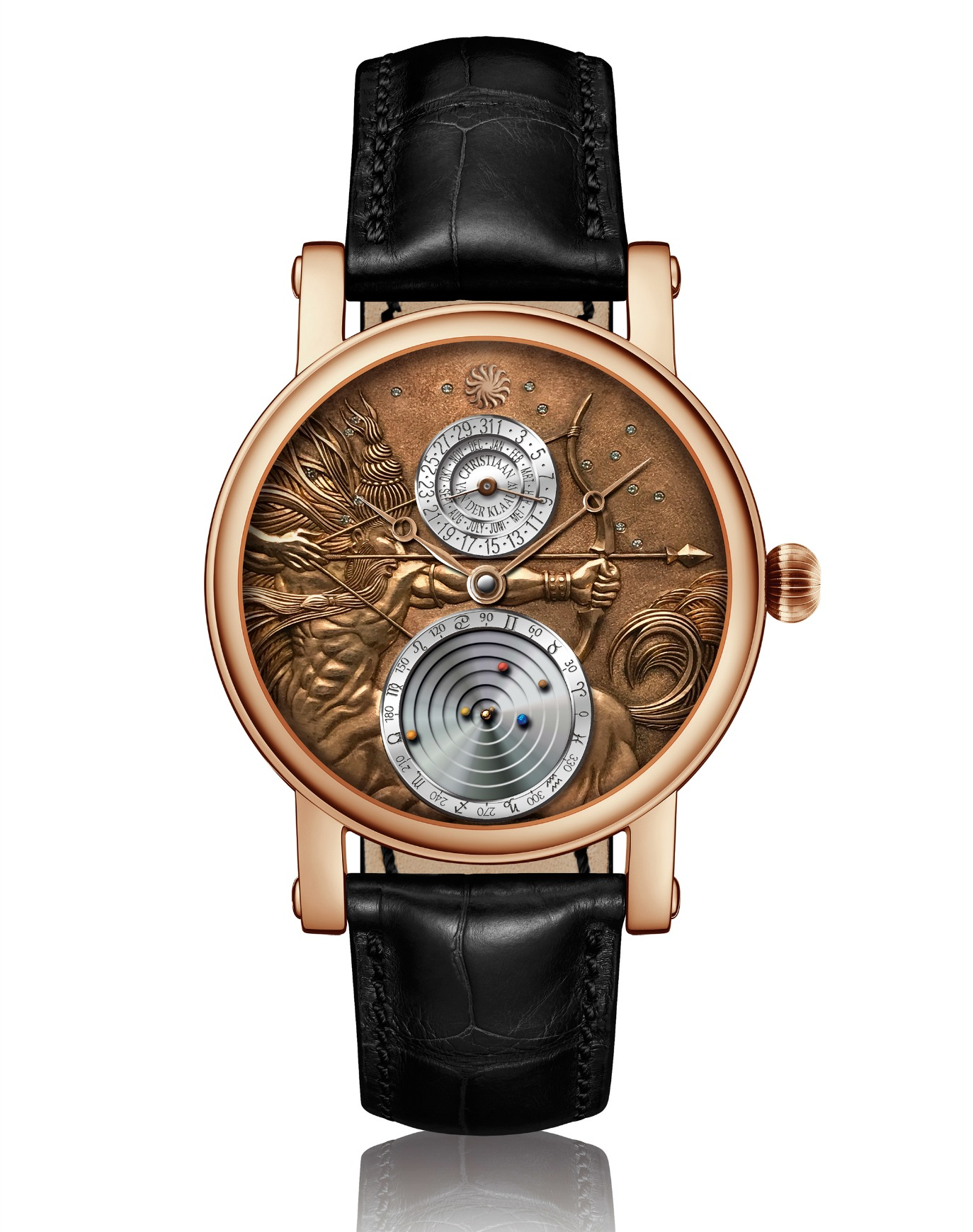 Christiaan van der Klaauw astronomical watch