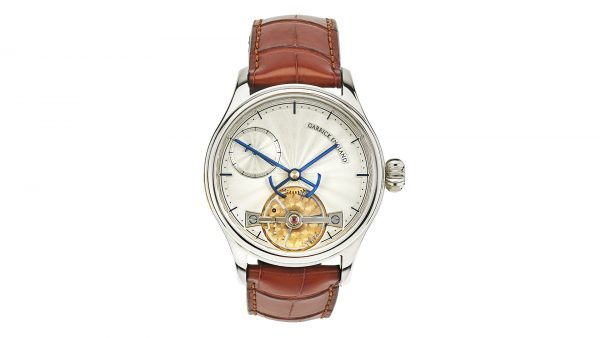 Portsmouth guilloche dial watch