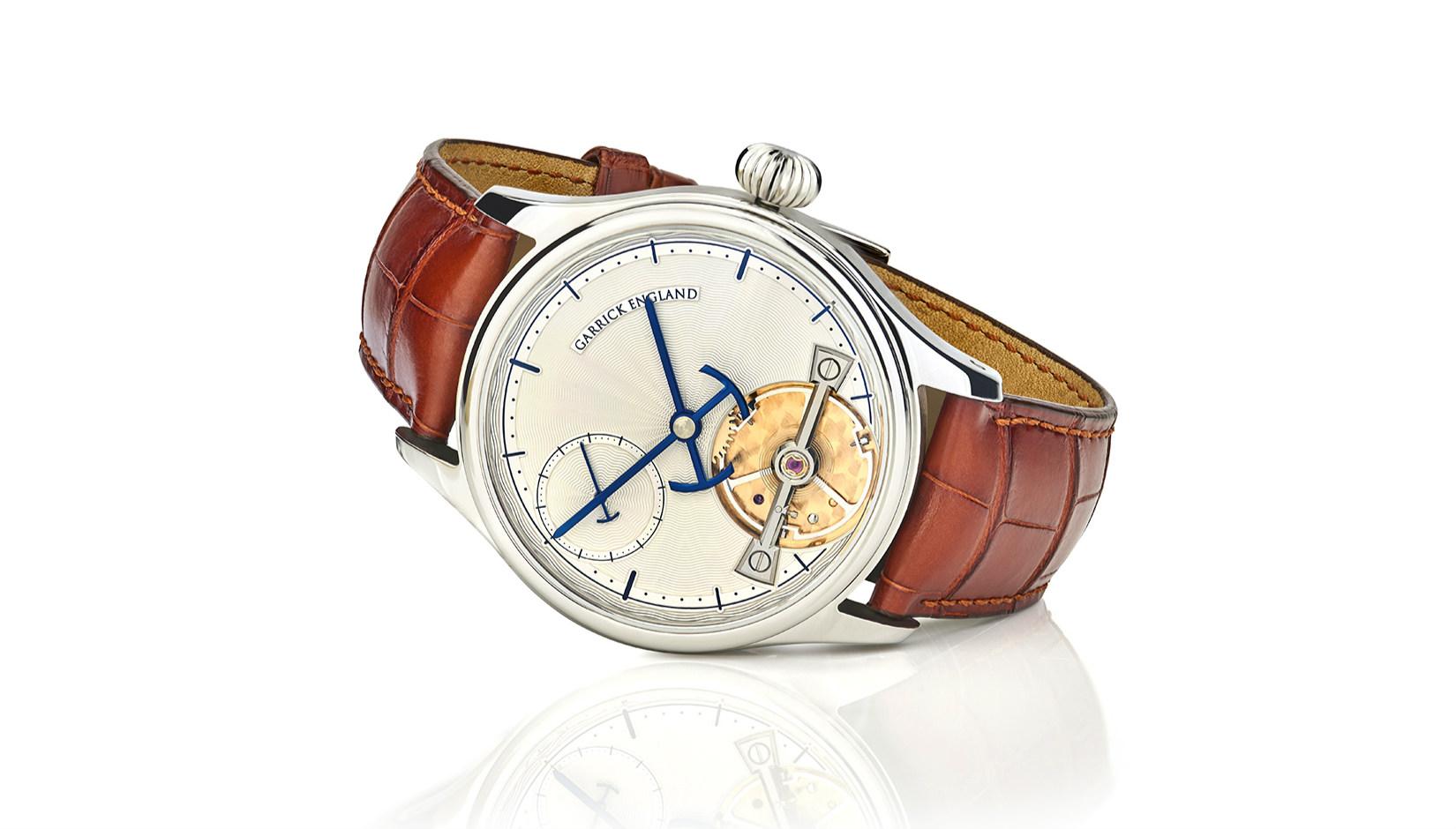 Portsmouth handmade watch by Garrick