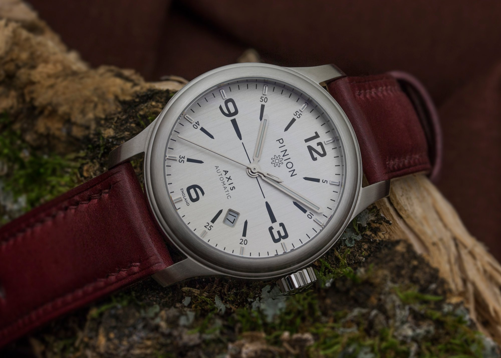 image introducing watches the pinion hero atom watch
