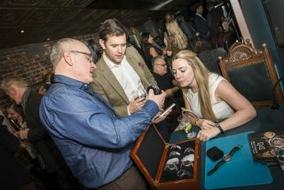Patrik from GoS watches attending the Watchmakers Club London event