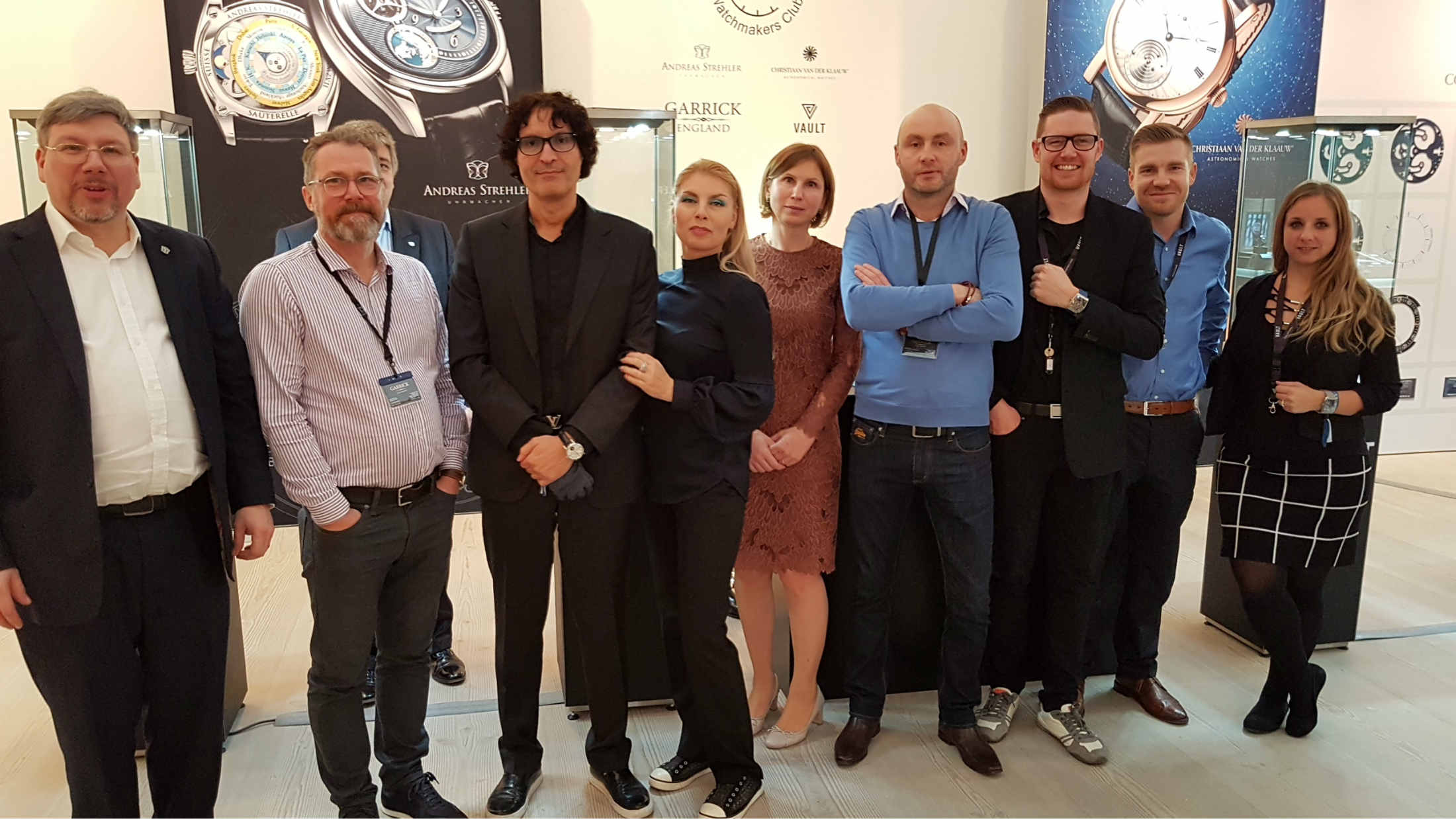 watchmakers club at SalonQP