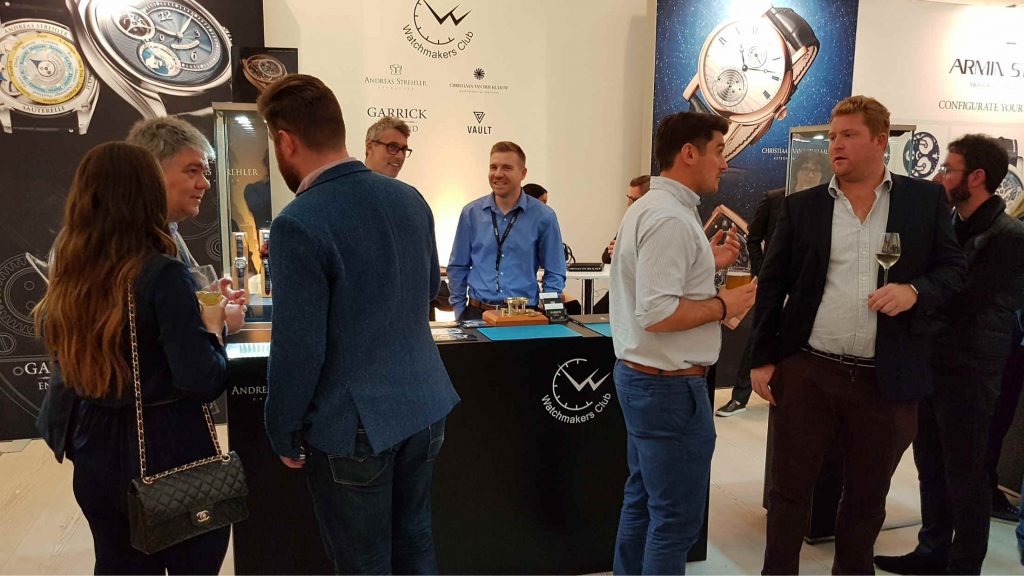 The Watchmakers Club at SalonQP