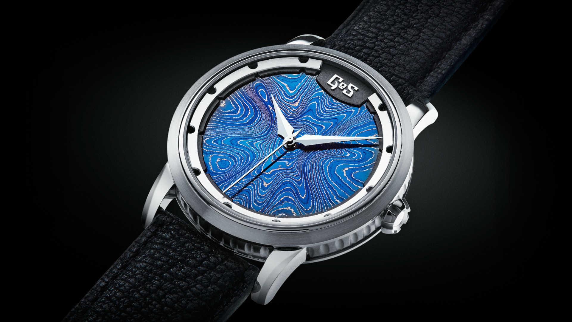 GoS watches - Sarek blue