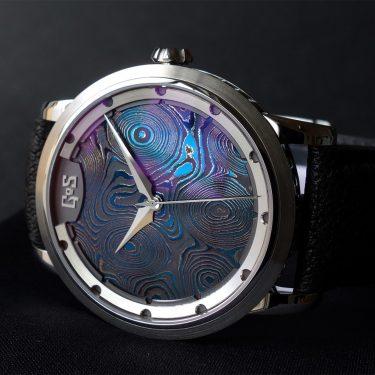 Sarek midnight blue watch by GoS watches
