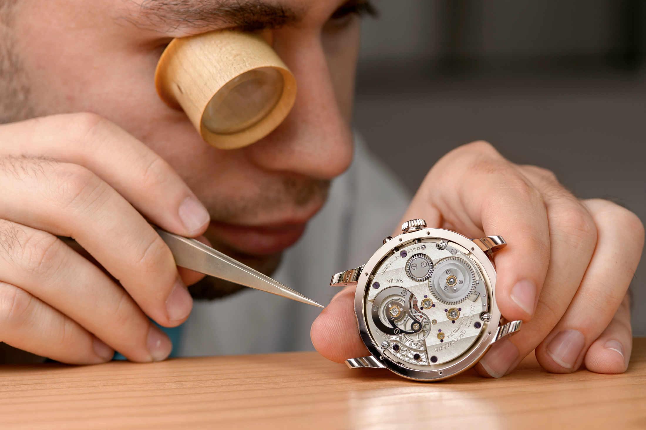 Moritz Grossmann watchmaker