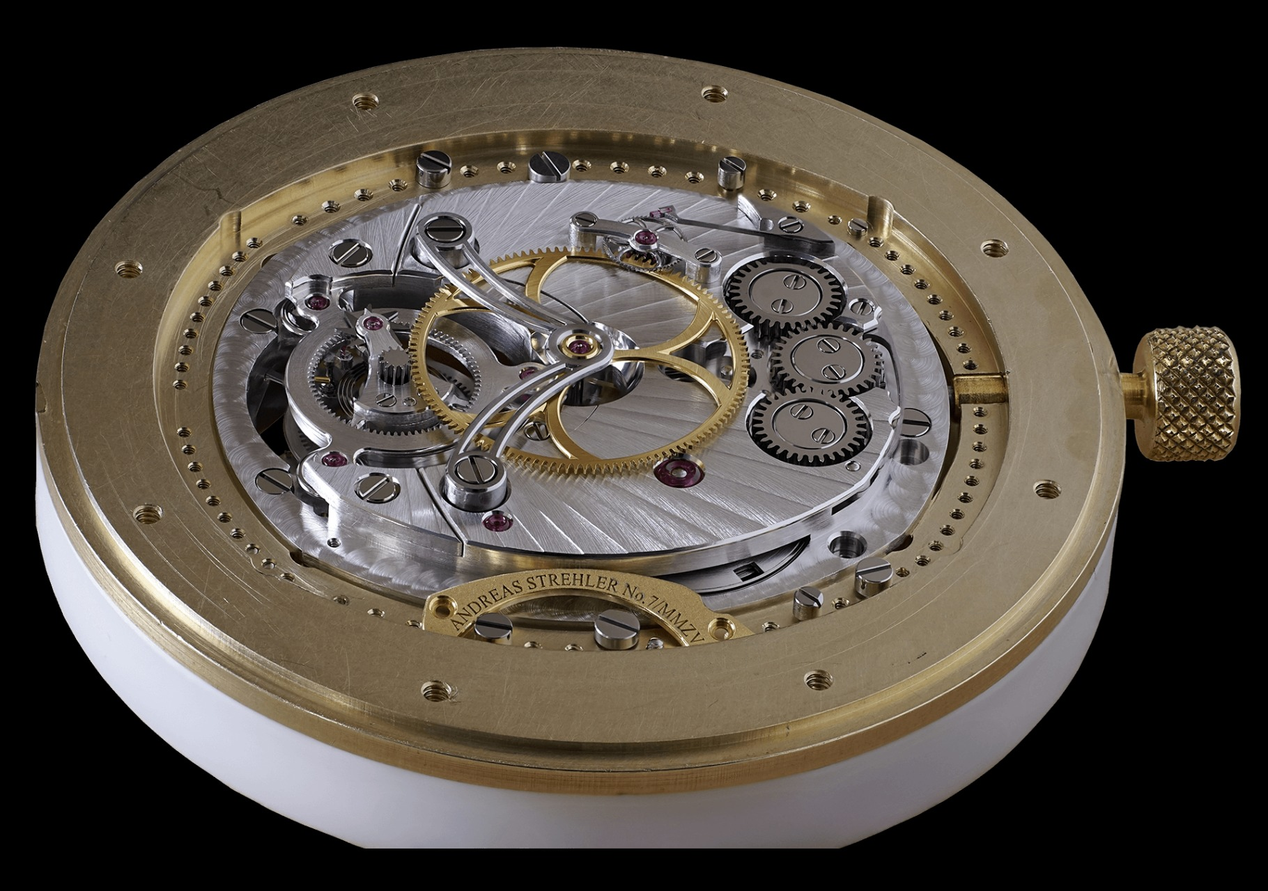 Andreas Strehler toubillon watch movemnet