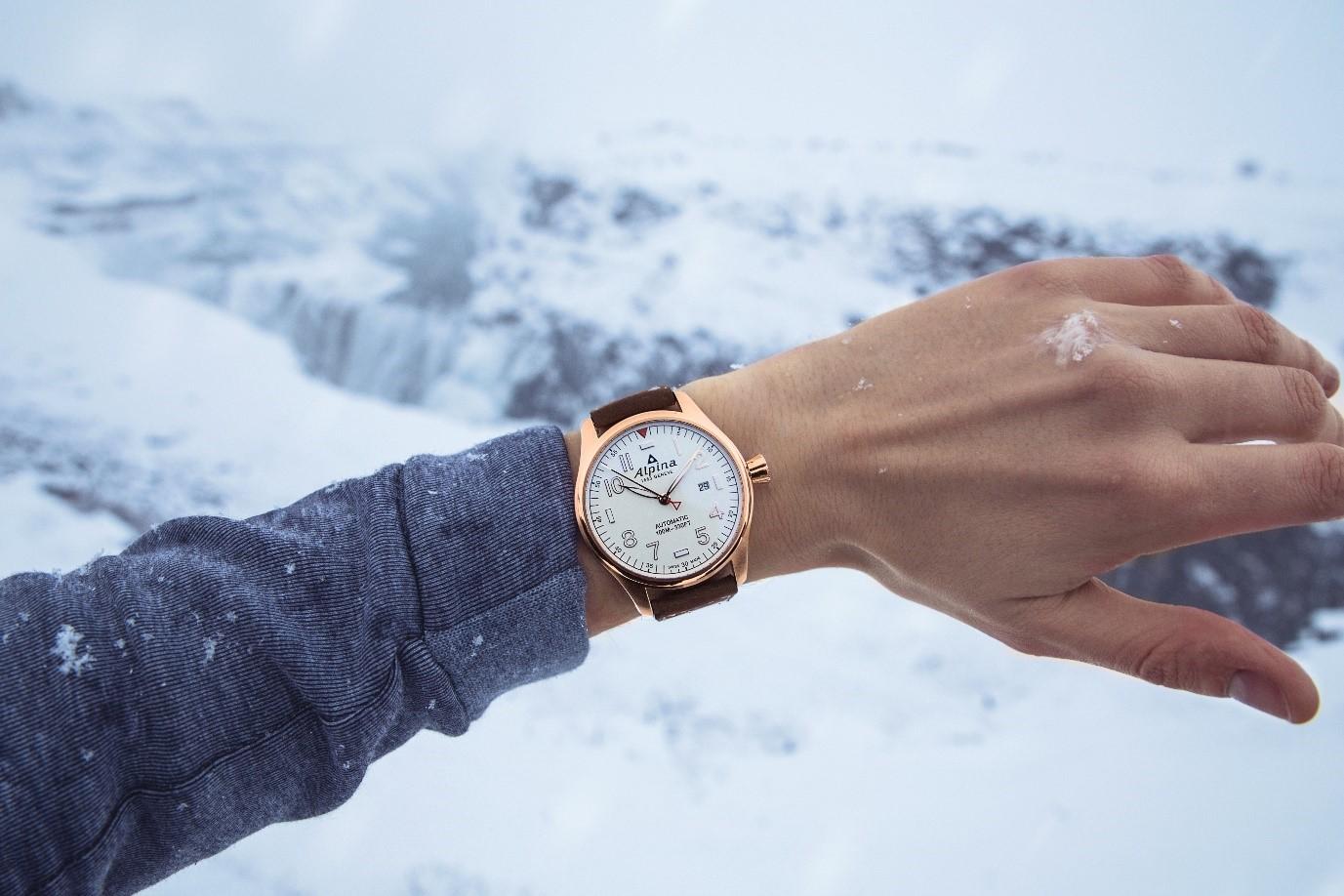 Alpina wrist shot