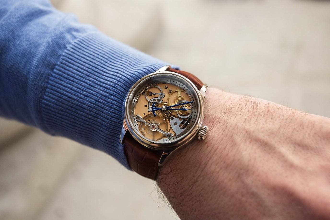 Garrick S1 watch made in England