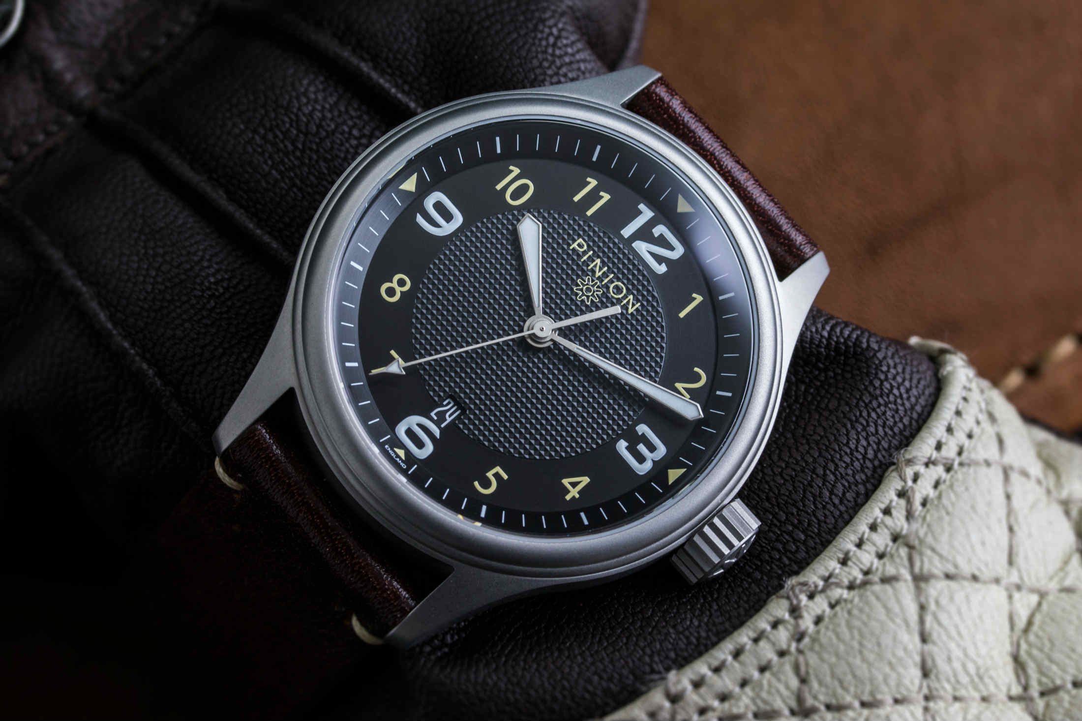 fugit november steel watches of tempus pinion courtesy watch