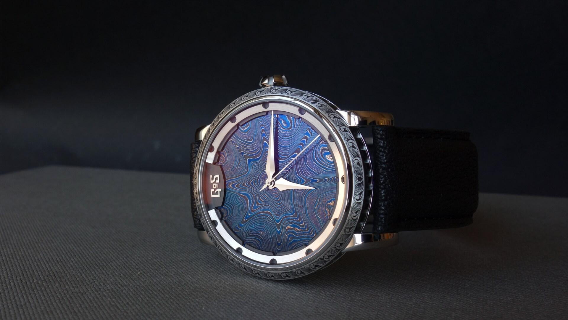 GoS watches Sarek midnight blue bespoke watch
