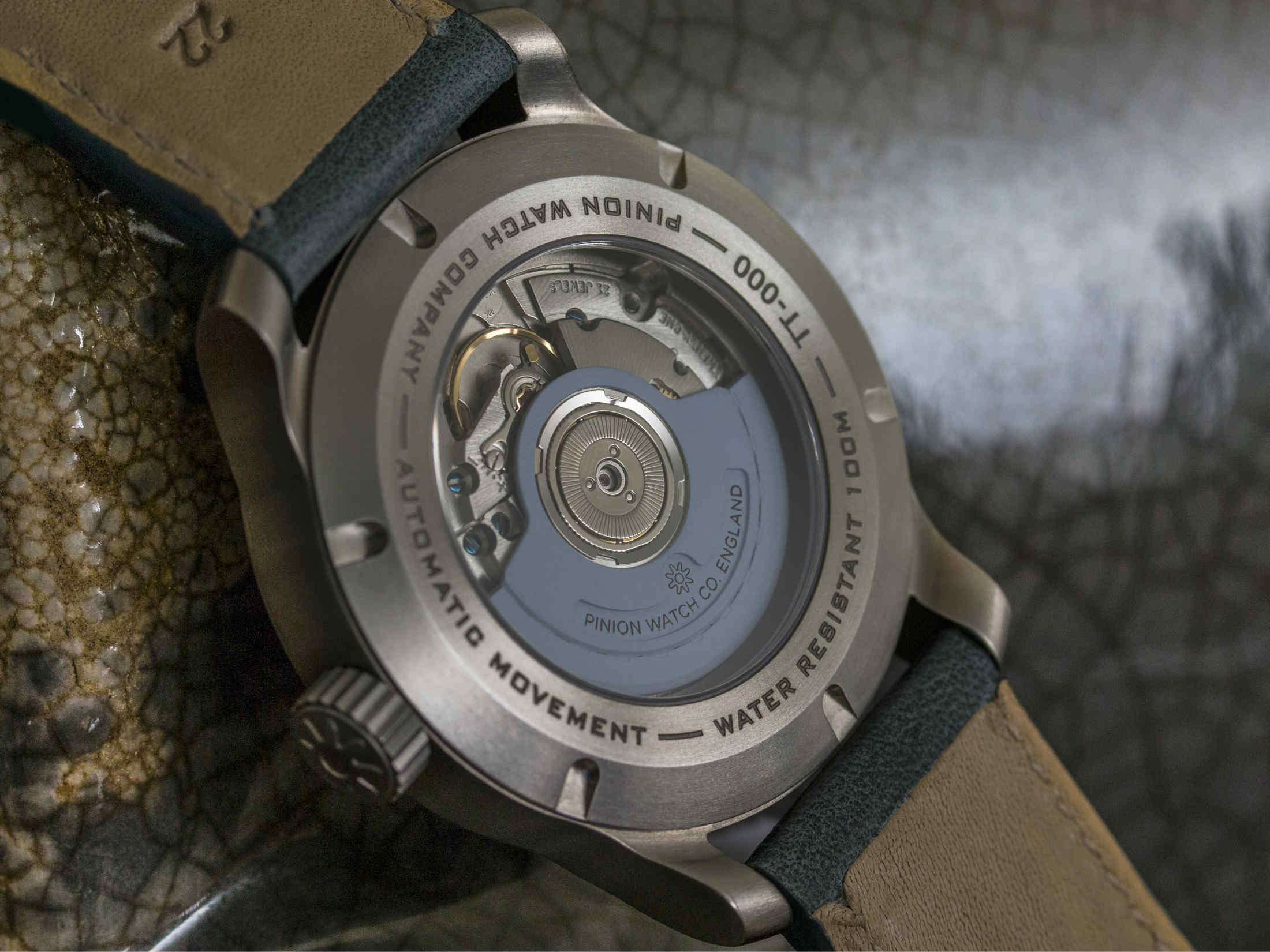 Pinion TT watch movement
