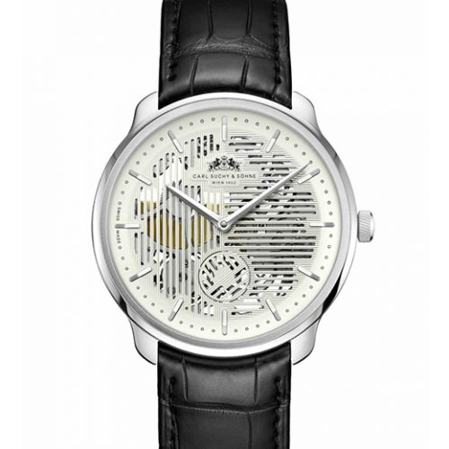 Carl Suchy & Sohne Skeleton watch