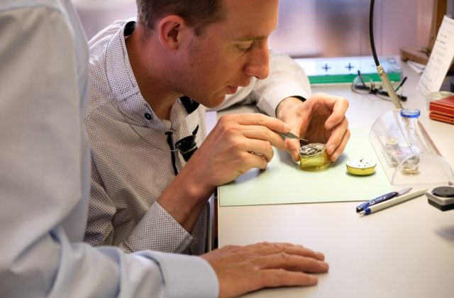 Marc Jenni of Carl Suchy & Sohne - Austrian watchmakers