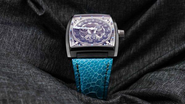 Vault swiss V1 Balck Steel watch