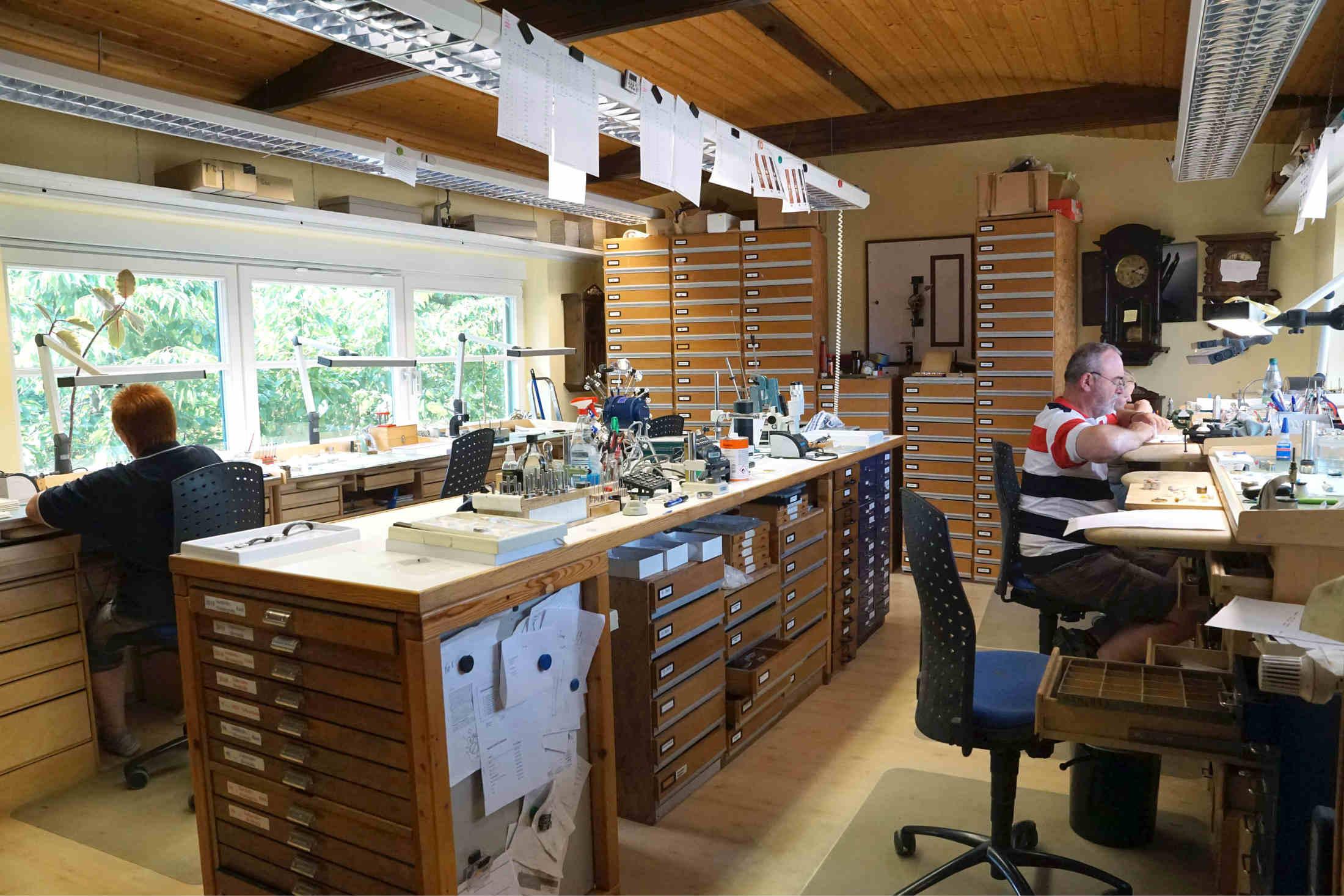 German watchmakers Dornbluth & Sohn