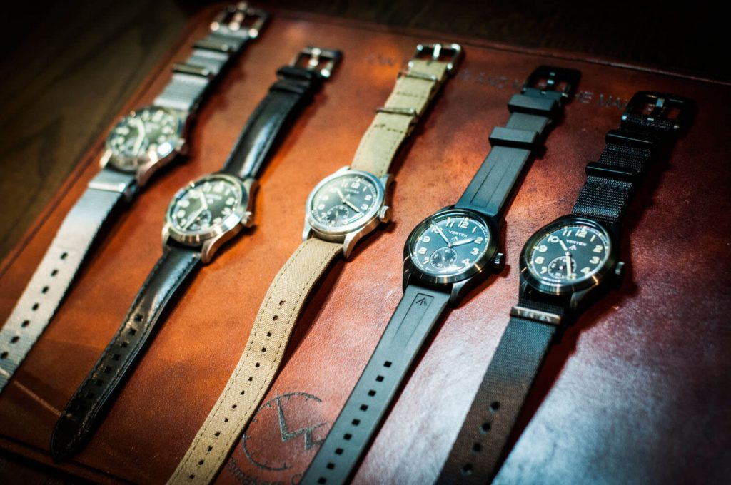 Vertex watches at the watchmakers club event