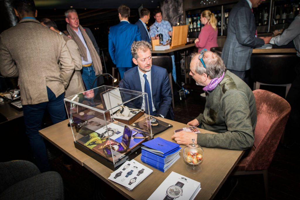 Carl Suchy & Sohne at the Watchmakers Club event