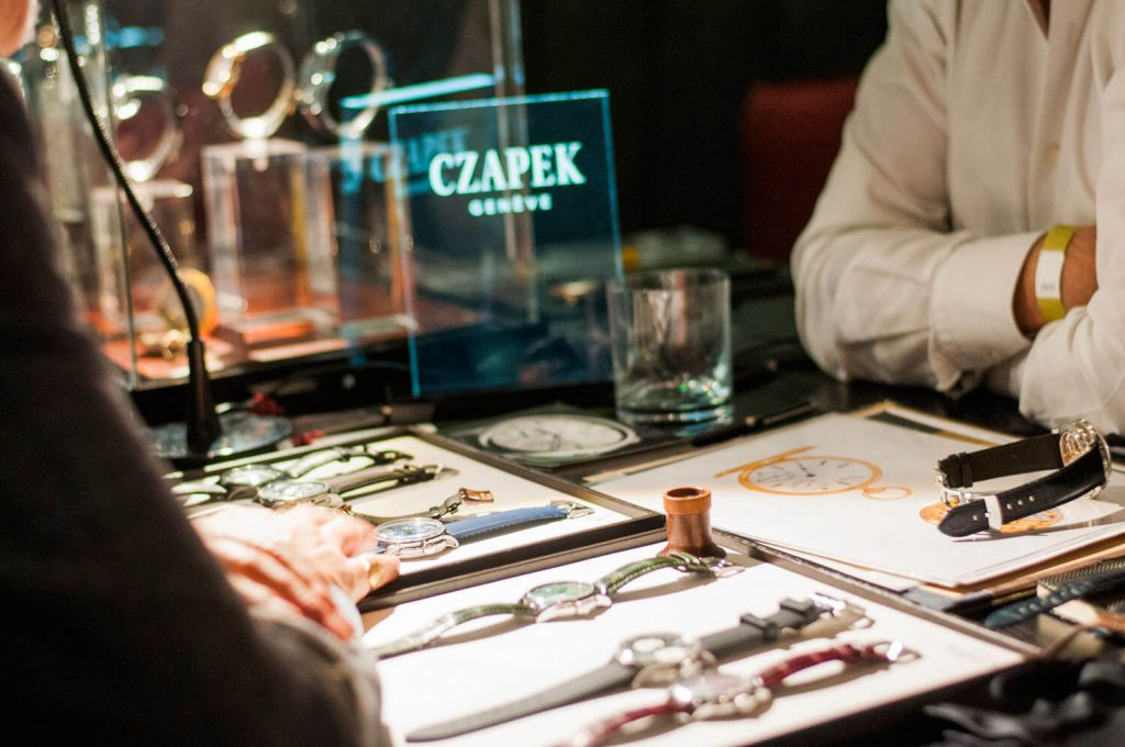 Czapek Geneve at the Watchmakers Club event in London