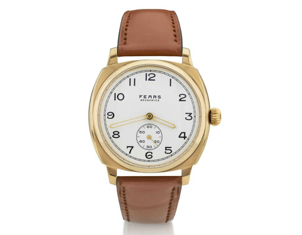 Fears Brunswick gold watch