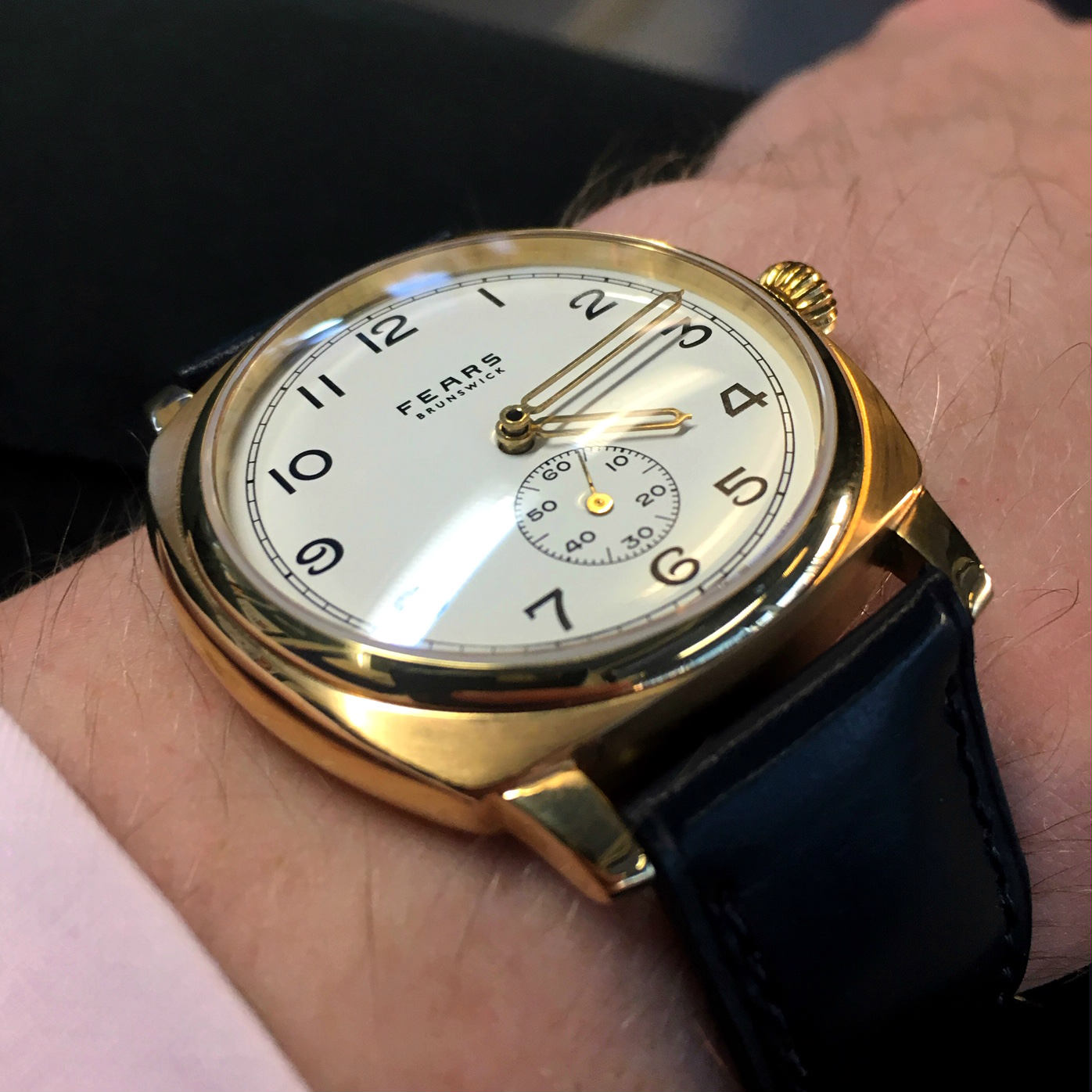 The Fears Brunswick Midas watch