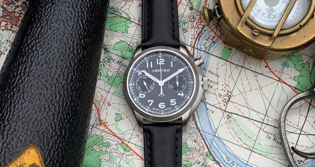 Vertex mb45 monopusher chronograph