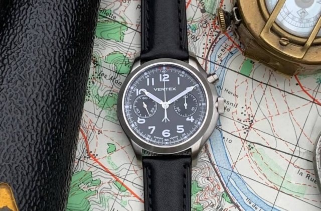 Vertex mb45 monopusher chronograph