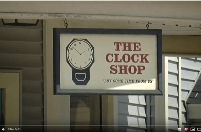 Michael Clerizo visits the Clock Shop in Vermont.