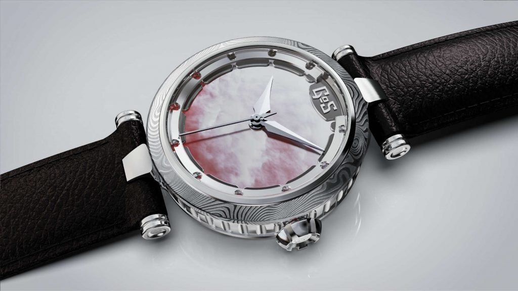 Sarek ladies watch with mother of pearl dial by GoS watches