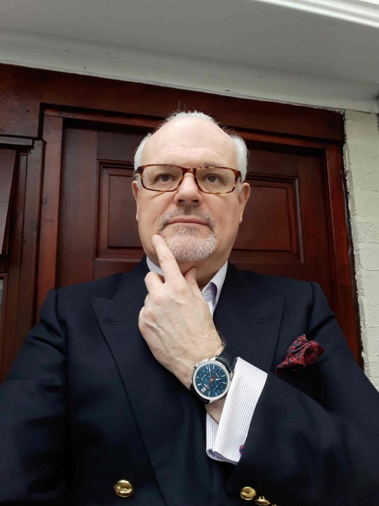 Karl Dennis watch collector