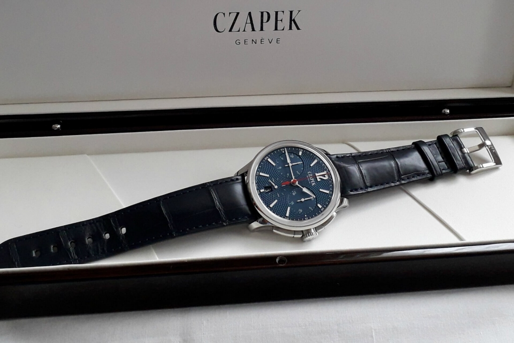 Czapek Faubourg De Cracovie L'Heure Bleue watch