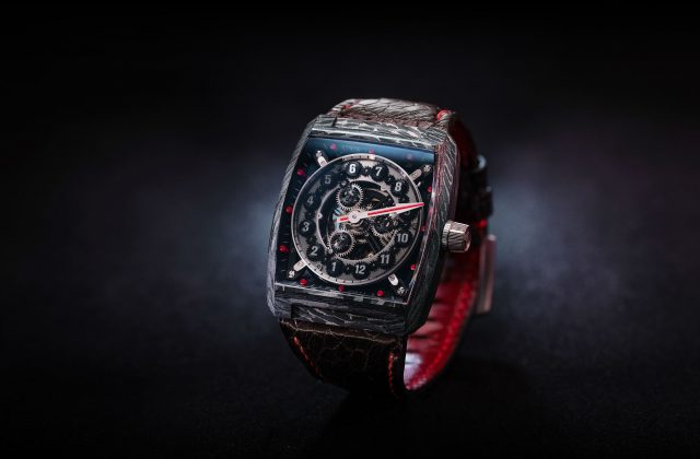 Vault Swiss VCi carbon fibre watch