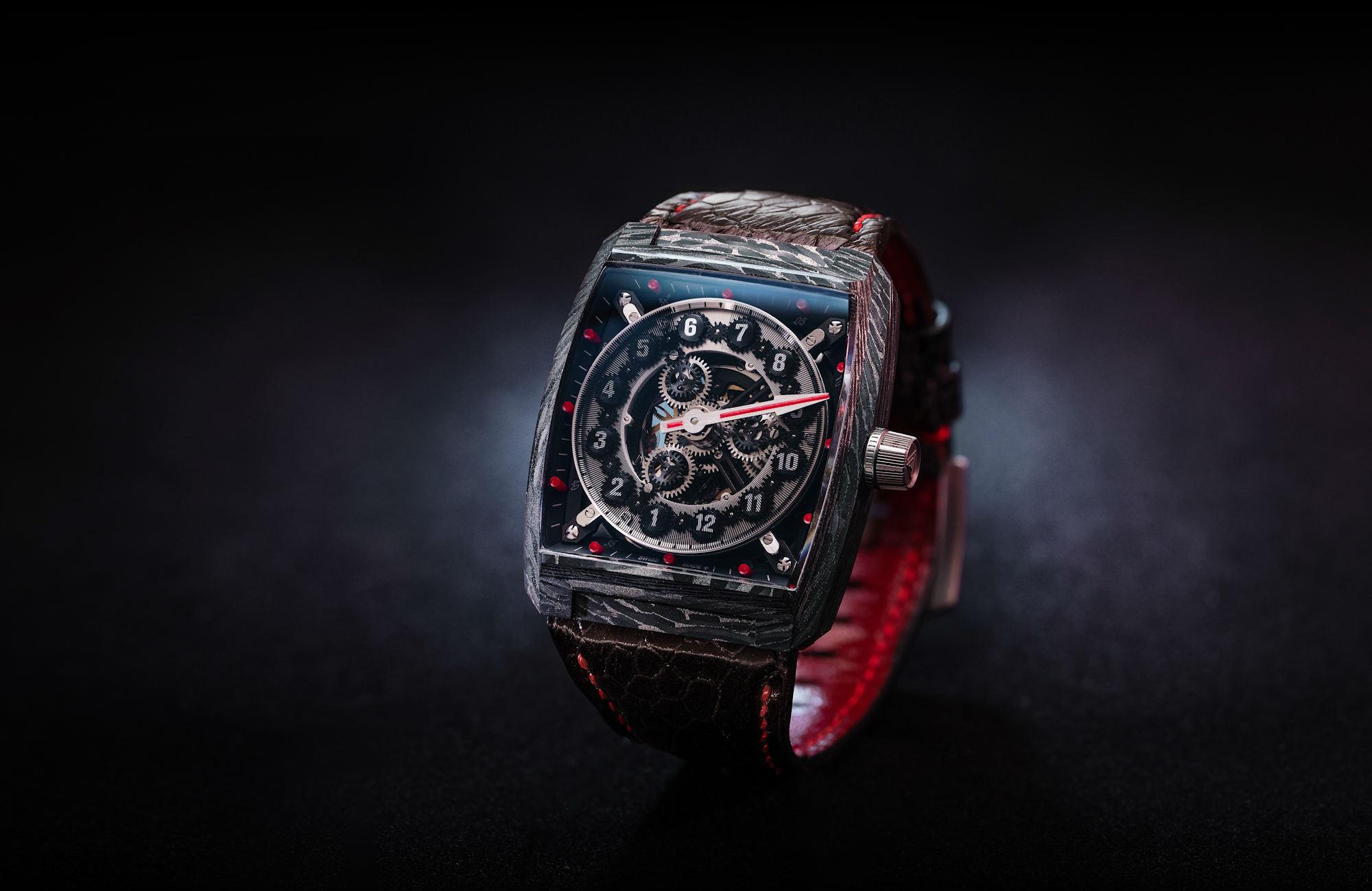 Vault Swiss VCi carbon fibre watch