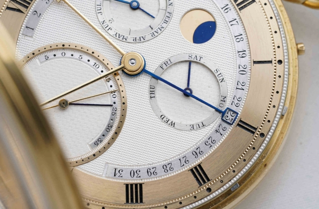 George Daniels Grand Complication watch at the Phillips Geneva auction.