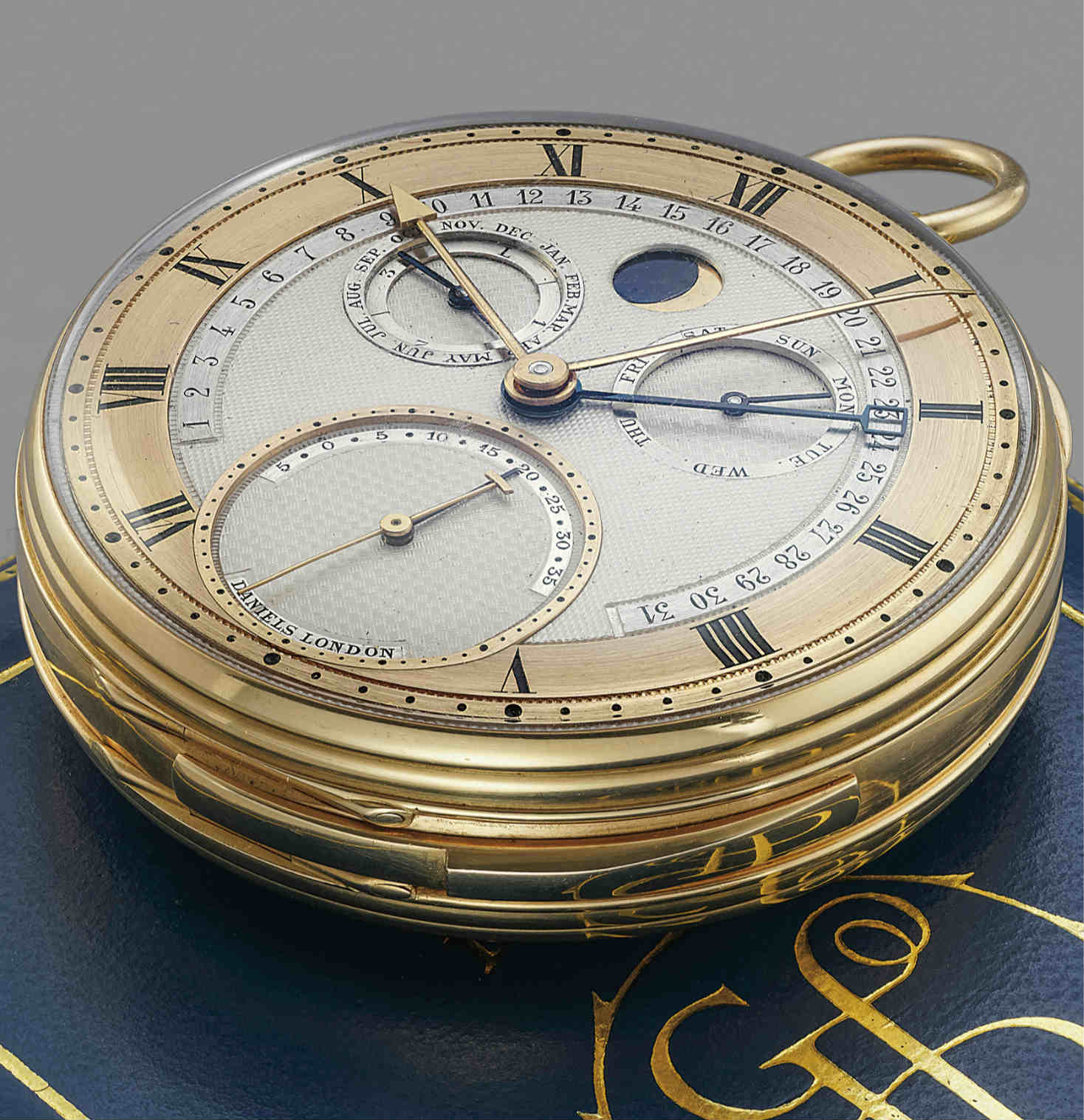 Geneva auction George Daniels Grand Complication pocket watch