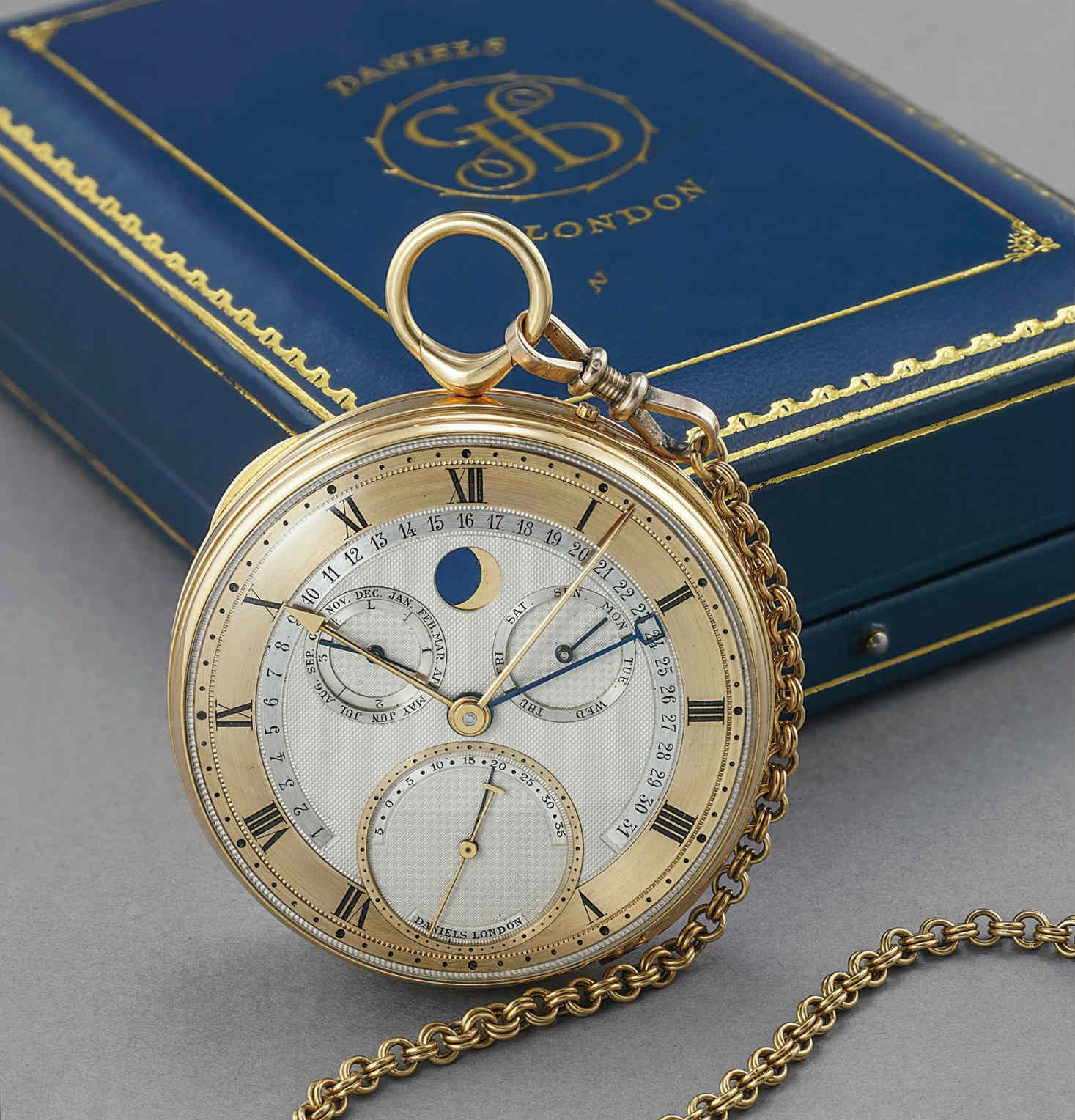 George Daniels grand complication watch at the Geneva auction