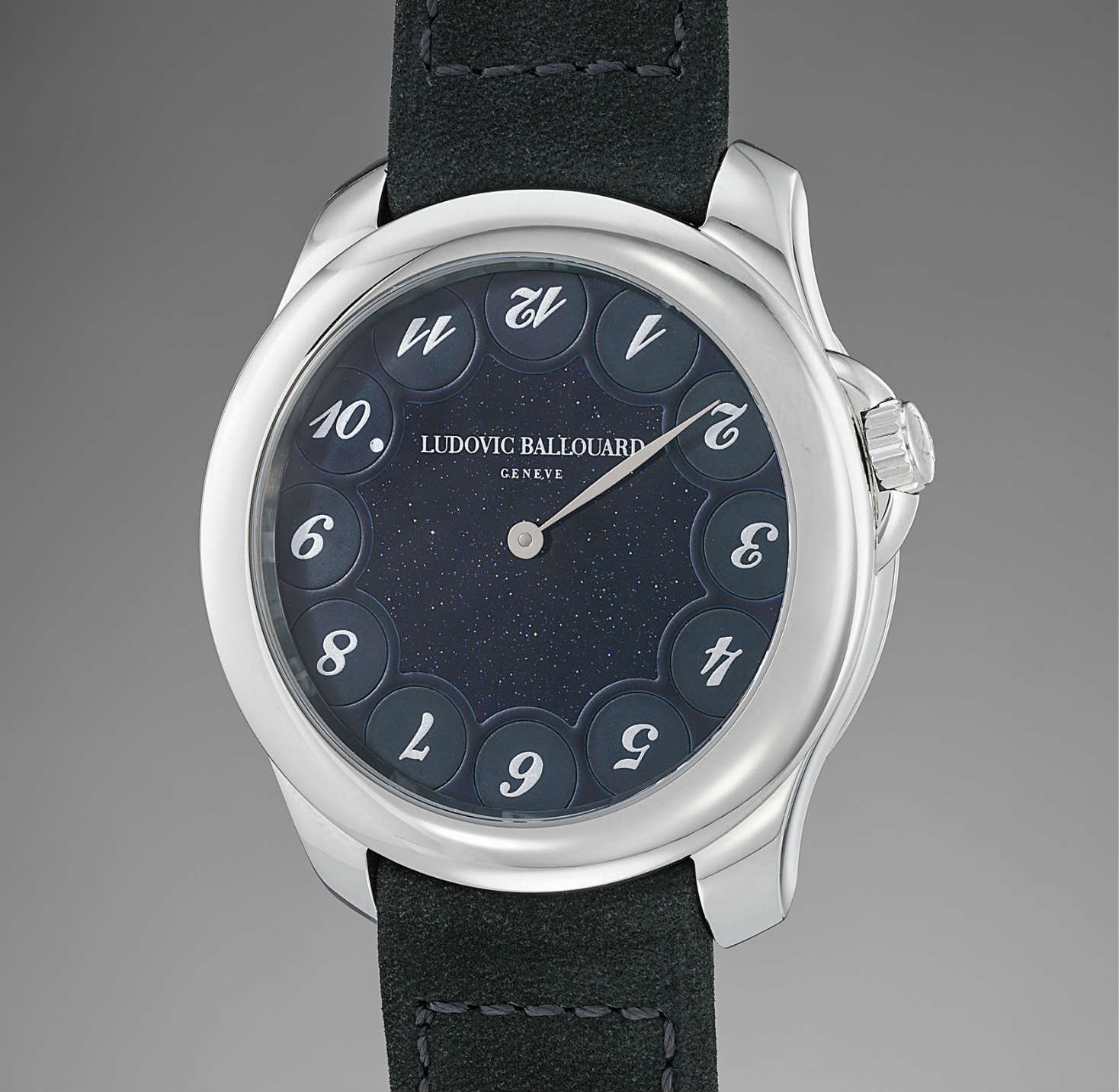 Ludovic Ballouard upside down watch