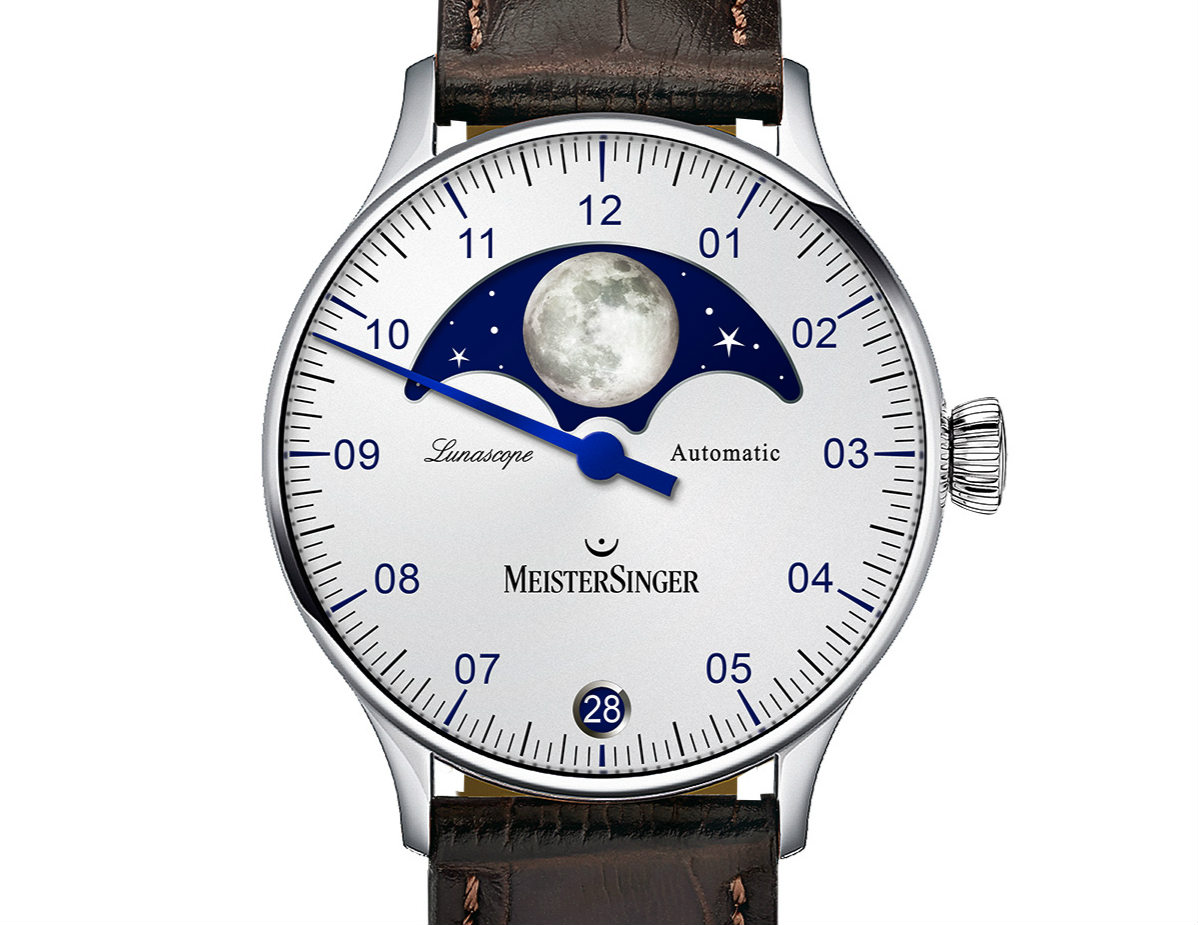 Meistersinger Lunascope watch