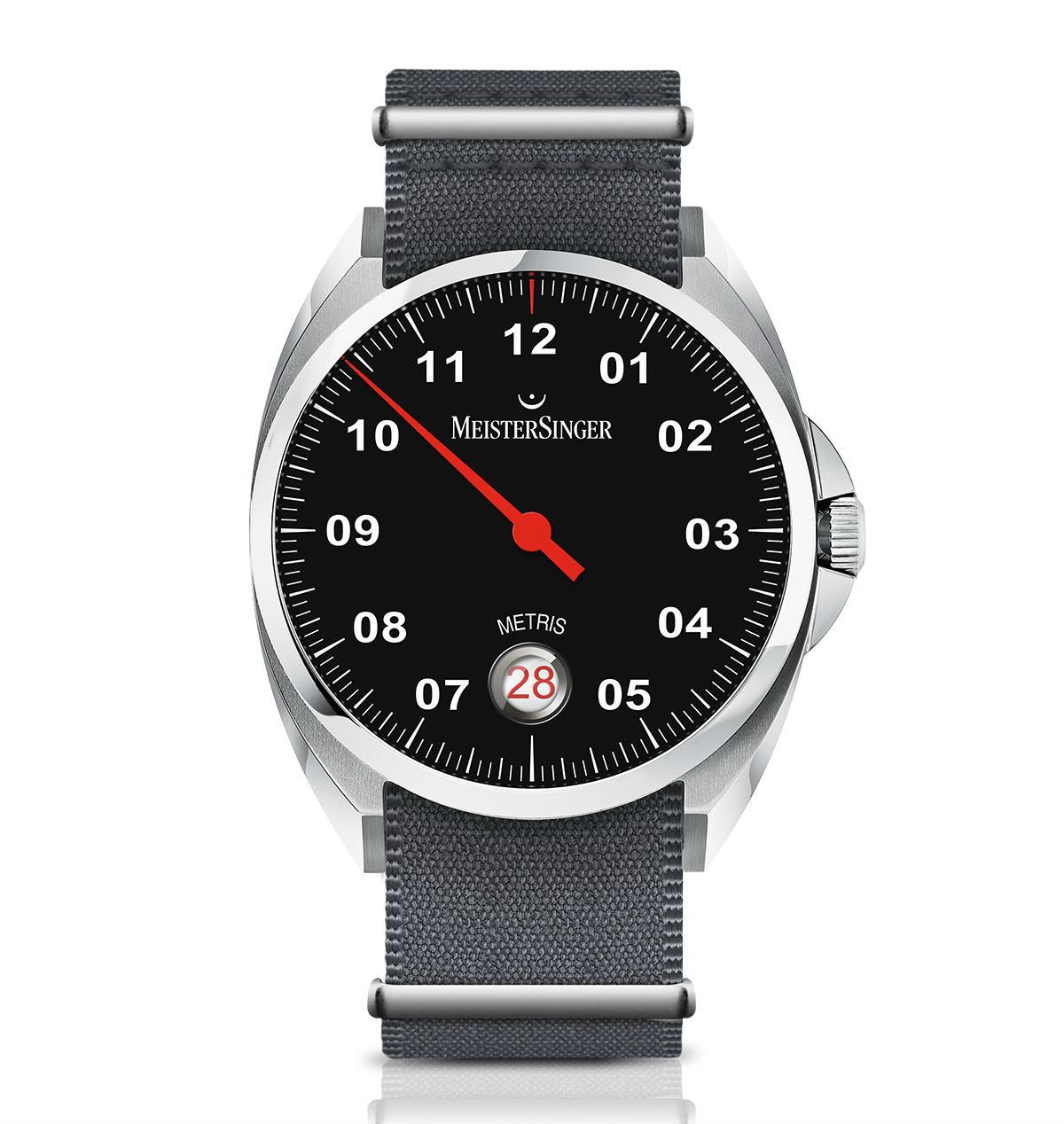 Meistersinger Metris watch