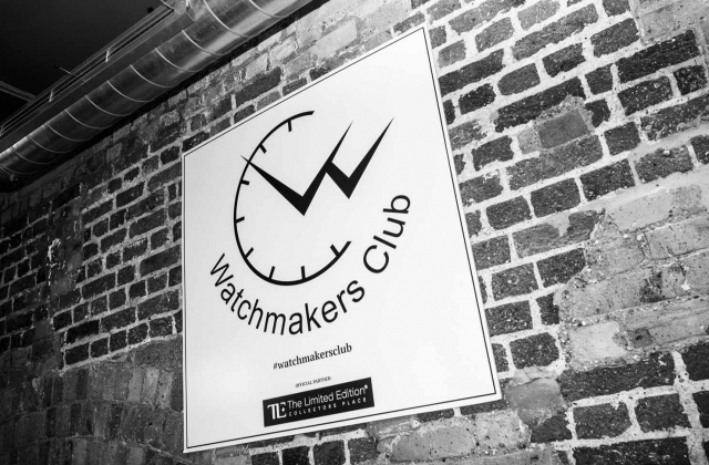 Watchmakers Club London event