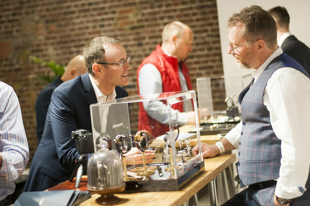 Garrick Watchmakers at the Watchmakers Club event