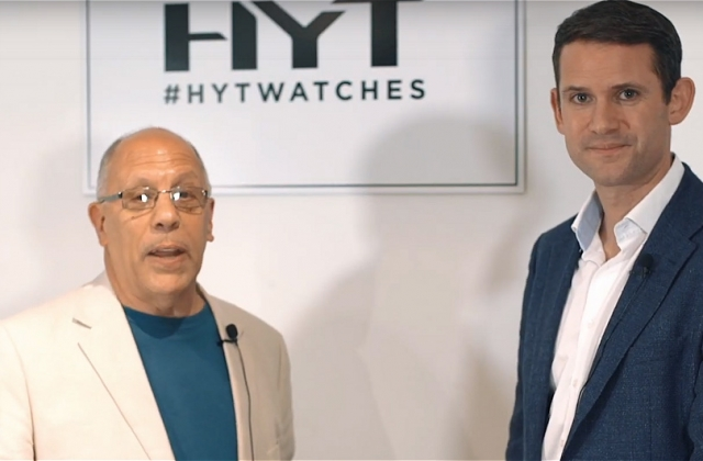 Michael Clerizo interviews Robert Bailey of HYT watches