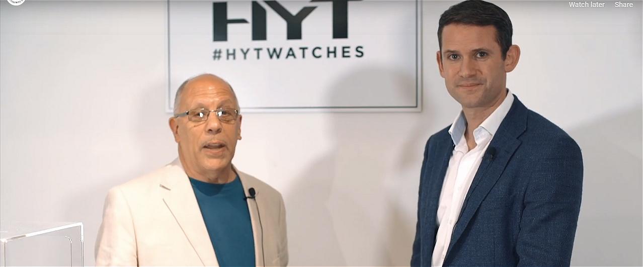 Michael Clerizo interviews Robert Bailey of HYT watches