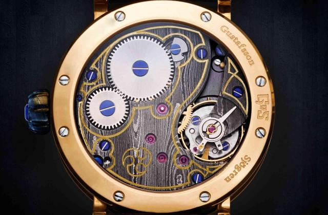 GoS Skadi Damascus steel watch