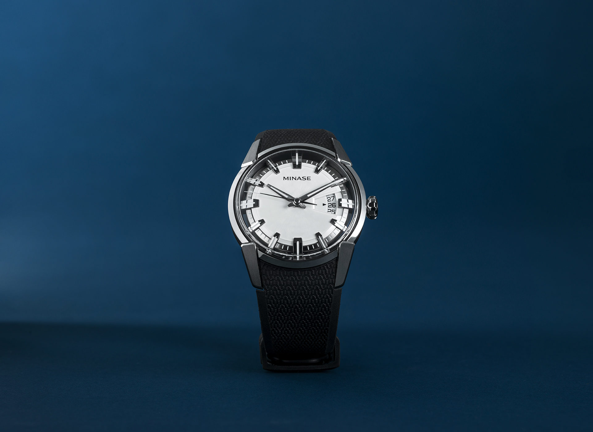 The Divido watch by Japanese watch brand Minase