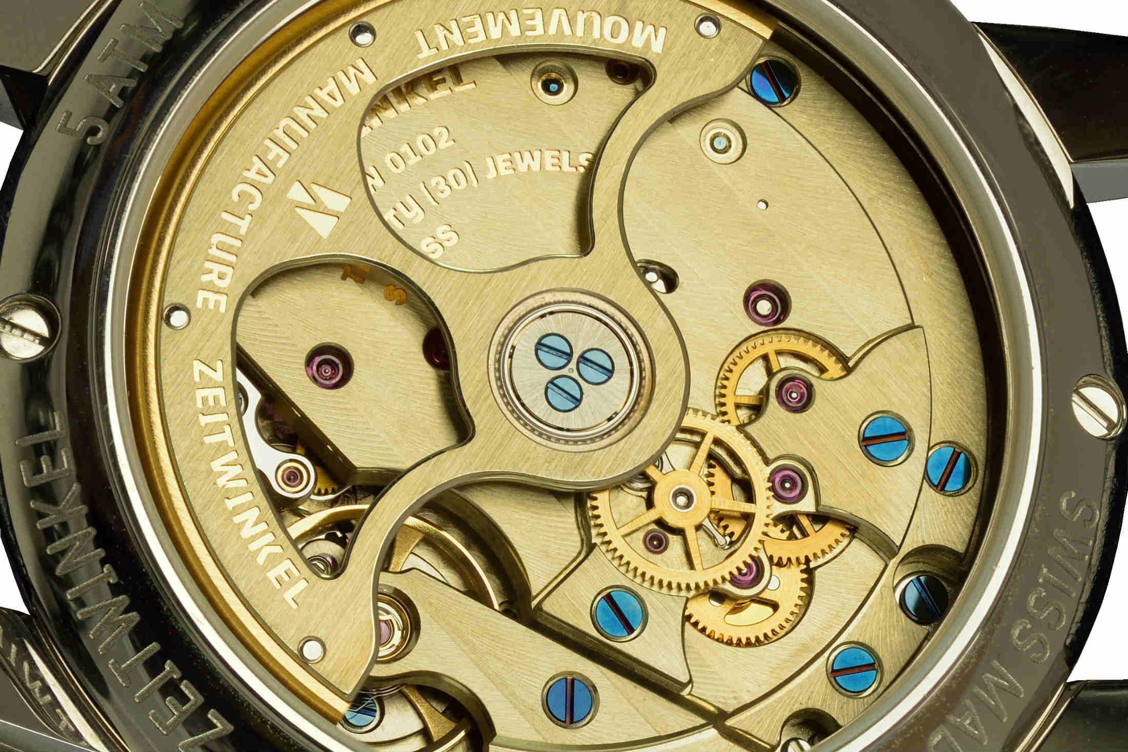 Zeitwinkel in-house Swiss watch movement
