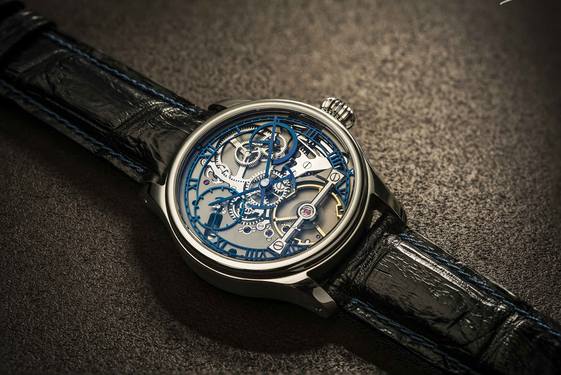 The S3 handmade English watch by Garrick Watchmakers