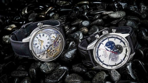 Maurice Lacroix masterpiece gravity and Zenith El primero watches