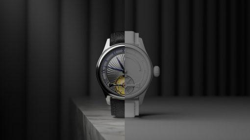 Digital render of Garrick S2 watch